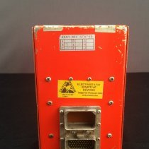 Image of LAS Digital Flight Data Recorder Model 209, back