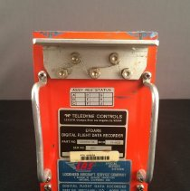 Image of LAS Digital Flight Data Recorder Model 209, front