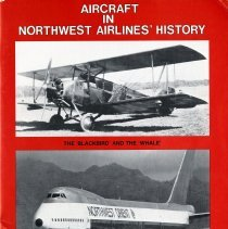 Image of Aircraft in Northwest Airlines' History cover