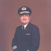 Image of Republic Airlines Capt. Jack Daughtry - 06/1985