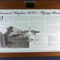 Image of Howard Hughes' HK-1 Flying Boat The Spruce Goose Pieces, back