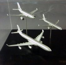 Image of Airbus Model Airplane Set - ca. 1994