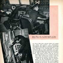 "Image of ""Airway to Europe,"" Popular Science Monthly, June 1939, 2 of 5 pages"