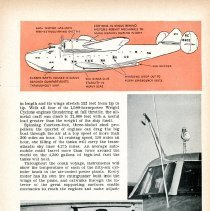 "Image of ""Airway to Europe,"" Popular Science Monthly, June 1939, 3 of 5 pages"