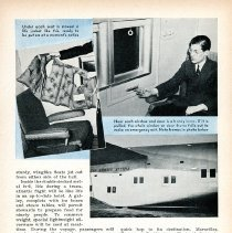 "Image of ""Airway to Europe,"" Popular Science Monthly, June 1939, 5 of 5 pages"