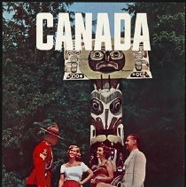 Image of Northwest Orient Canada Poster, 1950s