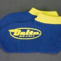 Image of Delta In-Flight Socks - ca. 1950-1962
