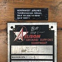Image of Borescope label