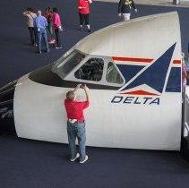 Image of Delta Convair 880 Cockpit, 2014
