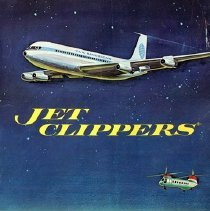 Image of Jet Clippers: The Space Age Coloring Book, back cover