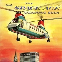 Image of Jet Clippers: The Space Age Coloring Book - 1959