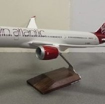 Image of Model airplane, Virgin Atlantic Boeing 787-9 GV, Birthday Girl, 1:100 scale