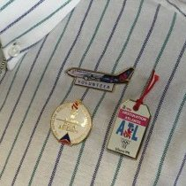 Image of 1996 Olympic Games Volunteer Uniform Pins