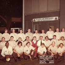 Image of Delta TechOps Line Maintenance Dept 250 - 04/1976