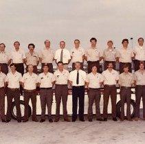 Image of Delta TechOps Line Maintenance Dept 250 Group Photo - 1982