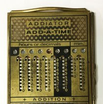 Image of Addiator Add-A-Time - ca. 1960