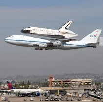 Image of Space Shuttle Endeavour's Final Flight - 09/21/2012