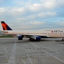 Image of Delta (Former Northwest) Boeing 747-400, N661US, Ship 6301 - 1988-2015