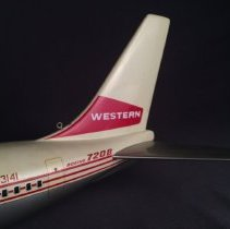Image of Western Boeing 720B, N93141, Model Airplane