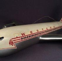 Image of Western Airlines Boeing 720B, N93141 Model Airplane - 1961-1971