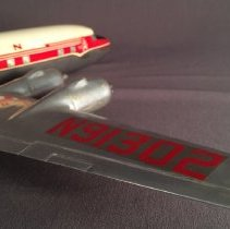 Image of Western DC-6B, N91302, Model Airplane