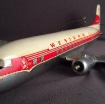 Image of Western Airlines DC-6B, N91302 Model Airplane - 1957-1959