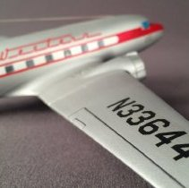 Image of Western Airlines DC-3, N33644, Airplane Model