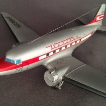 Image of Western Airlines Douglas DC-3, N33644 Airplane Model -