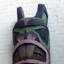Image of Alaskan Chilkoot Totem Pole