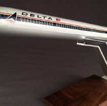 Image of Delta MD-88 Model Airplane - ca. 1987-1997