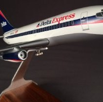 Image of Delta Express Boeing 737-232, N301DL, Ship 301, Model Airplane - ca. 1997-2000