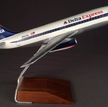 Image of Delta Boeing 737-200, N301DL Ship 301, Model Airplane