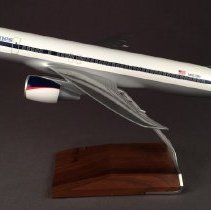 Image of Delta Boeing 757-200, N601DN Ship 601, Model Airplane