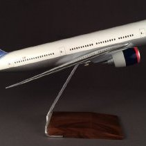 Image of Delta Boeing 777-200, N863DA Ship 7004, Model Airplane