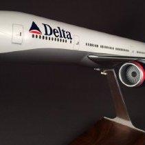 Image of Delta Boeing 777-232ER, N863DA, Ship 7004, Model Airplane - ca. 2000-2004