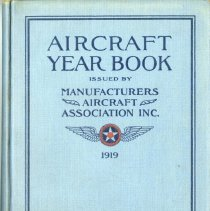 Image of Aircrarft Year Book 1919 cover