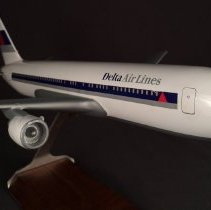 Image of Delta Boeing 767-232, Model Airplane
