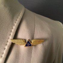 Image of Delta Stewardess Wings, 1940-1953