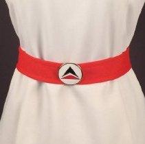 Image of Delta Stewardess Uniform Belt, 1970-1973