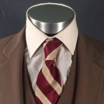 Image of Delta Male Flight Attendant Uniform Necktie, 1979-1983