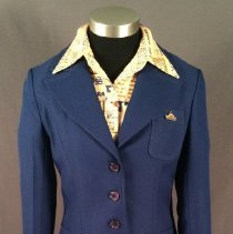 Image of Delta Agent Uniform (blue version), 1976-1983