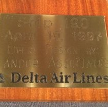 Image of Delta Boeing 767-332, N190DN Ship 190, Model Airplane