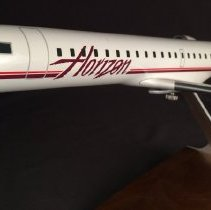Image of Horizon Air Bombardier CRJ-701ER Model Airplane - ca. 2004