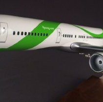 Image of Song Boeing 757-200, Model Airplane