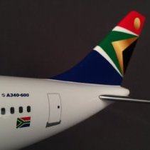 Image of South African Airways Airbus A340-600, Model Airplane