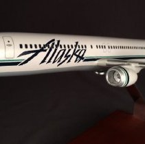 Image of Alaska Airlines Boeing 737-990, N305AS, Model Airplane - ca. 2003-2004