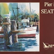 Image of Pier into Seattle - 1980