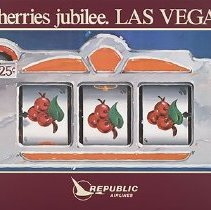 Image of Cherries Jubilee. Las Vegas - 1980