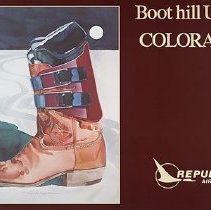 Image of Boot Hill U.S.A. Colorado - 1980