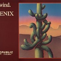 Image of Republic Airlines Poster Unwind. Phoenix
